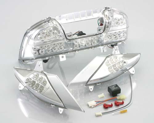 バイク用品 電装系 テールランプ/関連パーツKITACO LEDテール&Fウインカー&リレー SKYWAVE25 03-06キタコ 899-2785300 取寄品