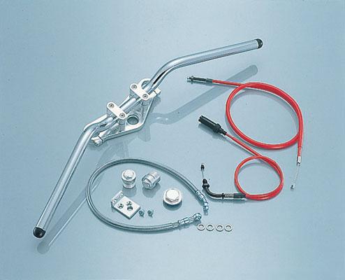 バイク用品 ハンドル ハンドルKITACO アップハンドルフルキット NS-1キタコ 618-1073000 取寄品