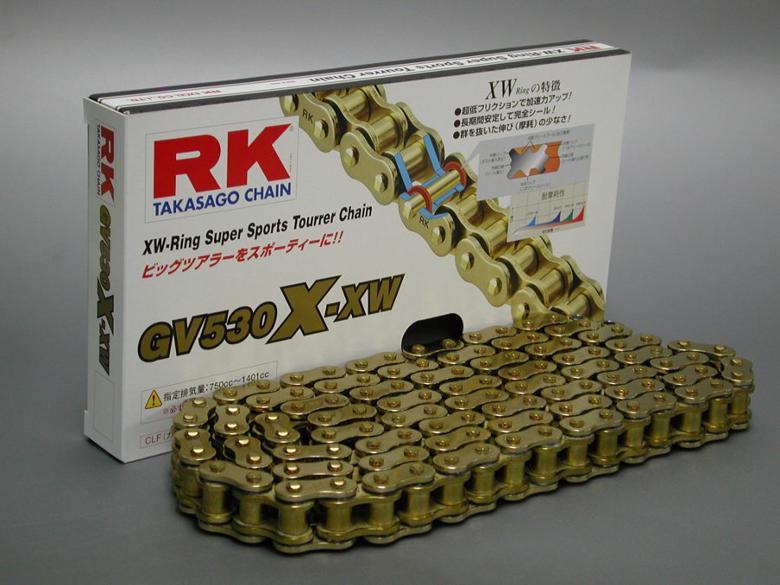 スーパーセール バイク用品 駆動系 チェーン&ドライブベルトRKチェーン GV530X-XW 110Lアールケーチェーン GV530X-XW 取寄品