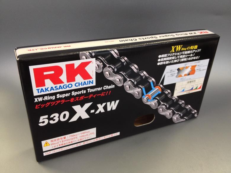 スーパーセール バイク用品 駆動系 チェーン&ドライブベルトRKチェーン RK530X-XW 130Lアールケーチェーン RK530X-XW 取寄品