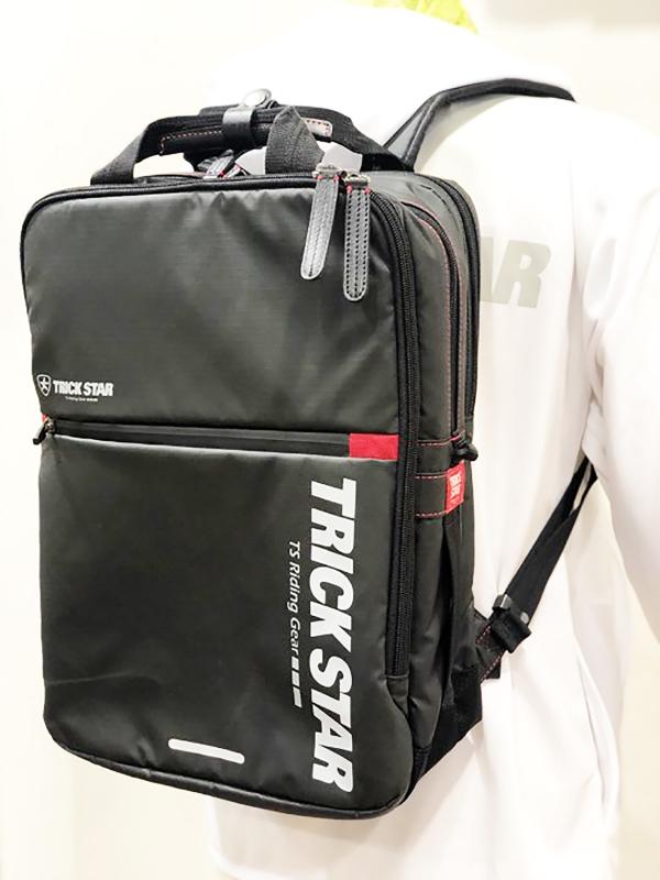 バイク用品 鞄&リュックサック&財布 リュックサックトリックスター BIZSACK NEOPRO model レッドTRICKSTAR BZ01-RD 取寄品
