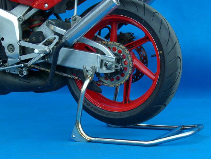 セール バイク用品 メンテナンス メンテナンススタンドBATTLE.F R.スタンド ステンレス NSR250R 90-93バトルファクトリー BA00-041 取寄品