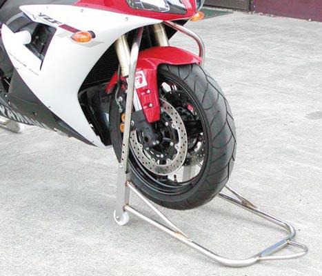 スーパーセール バイク用品 メンテナンス メンテナンススタンドBATTLE.F アジャストFスタンド ボス24パイ VTR1000F CBR600バトルファクトリー BA00-240BF 取寄品