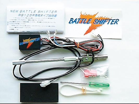 スーパーセール バイク用品 電装系 その他(電装系)BATTLE.F パワーシフター ロッドギャク YZF-R1 02-03バトルファクトリー BS6-Y01-023 取寄品