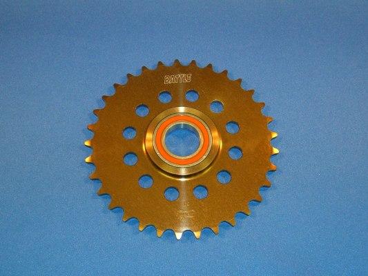 スーパーセール バイク用品 駆動系 リアスプロケットBATTLE.F リアスプロケット ベアリング 415-33T RS125バトルファクトリー BA25-33 取寄品