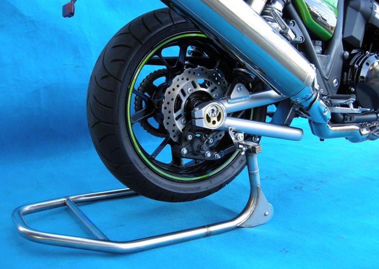 スーパーセール バイク用品 メンテナンス メンテナンススタンドBATTLE.F R.スタンド フック 300-395 H240 Eタイプ ZRX-DAEGバトルファクトリー BA00-067 取寄品