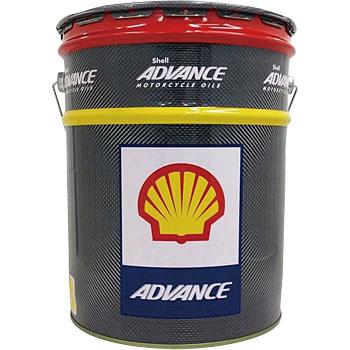 スーパーセール バイク用品 メンテナンス オイル関連シェルアドバンス 4Tウルトラ 10W-40 20L (SN MA2)ShellADVANCE 412232508(20L1缶) 取寄品