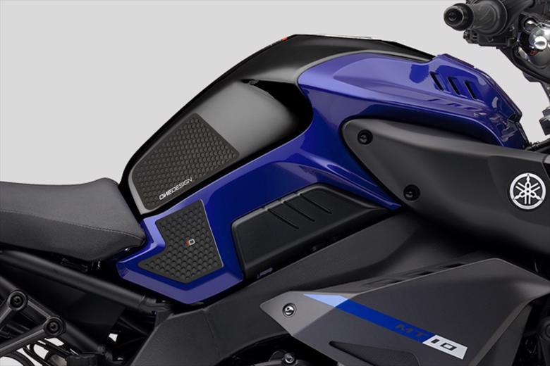 セール バイク用品 外装 フューエルタンク&タンクパッドPRINT タンクサイドパッド HDR BLK MT-10 SP 17-19プリント HDR275 取寄品