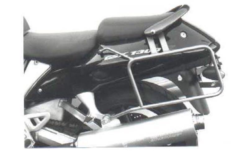バイク用品 ケース(バッグ) キャリア キャリア&ケースホルダーヘプコアンドベッカー サイドキャリア ブラック GSX1300R 99-07HEPCO&BECKER 650398 00 01 取寄品
