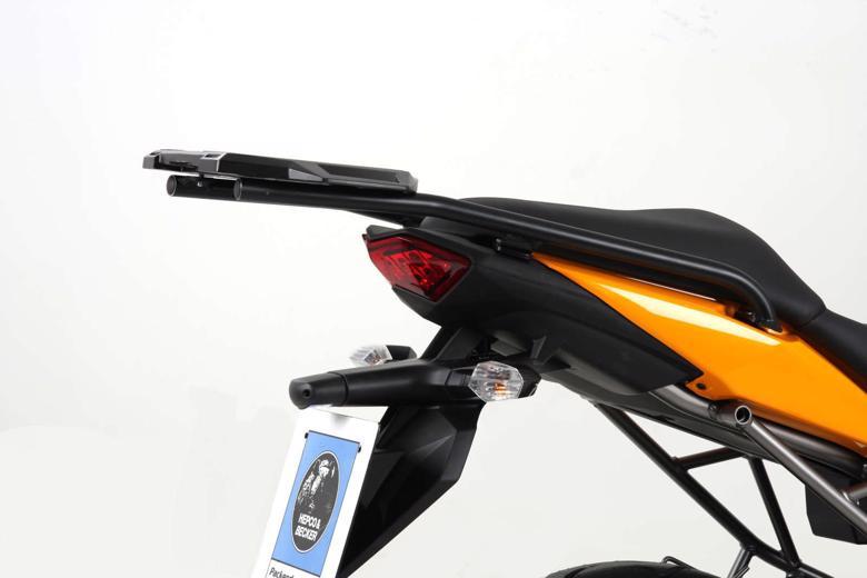 スーパーセール バイク用品 ケース(バッグ)&キャリア キャリア&ケースホルダーヘプコアンドベッカー トップケースキャリア アルラック ブラック Versys 10-14HEPCO&BECKER 6502510 01 01 取寄品