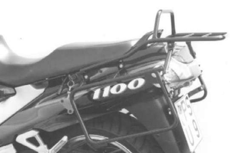 バイク用品 ケース(バッグ) キャリア キャリア&ケースホルダーヘプコアンドベッカー トップケースキャリア リアラック ブラック ZZR1100 93-01HEPCO&BECKER 650264 01 01 取寄品