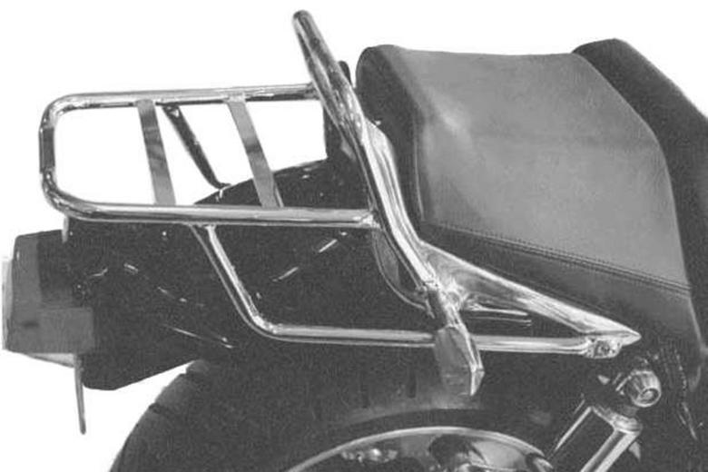 スーパーセール バイク用品 ケース(バッグ)&キャリア キャリア&ケースホルダーヘプコアンドベッカー トップケースキャリア リアラック クローム V-MAX 93-99HEPCO&BECKER 650455 01 02 取寄品