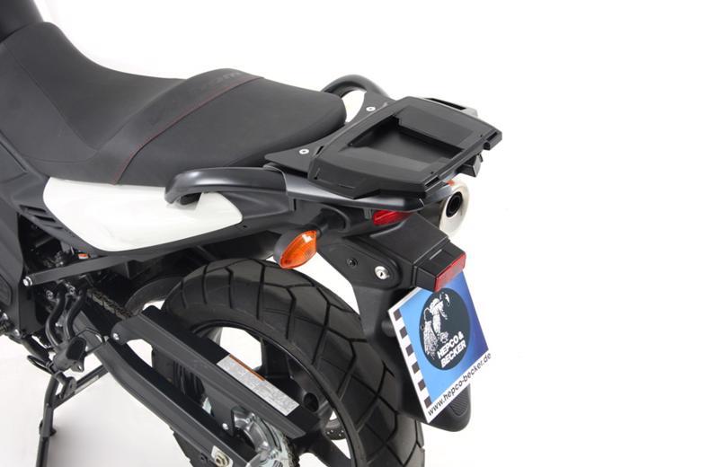 バイク用品 ケース(バッグ) キャリア キャリア&ケースホルダーヘプコアンドベッカー トップケースキャリア アルラック ブラック V-Strom650 ABS 12-16HEPCO&BECKER 6503528 01 01 取寄品