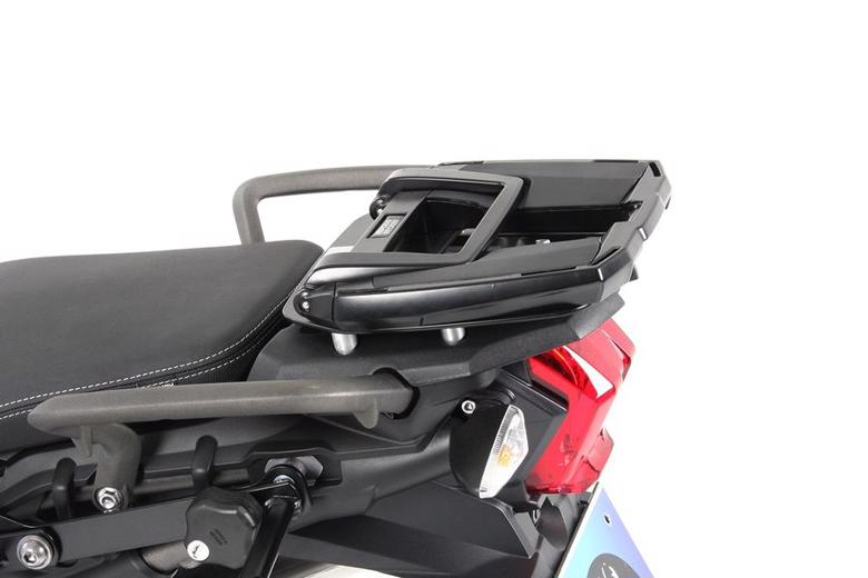 バイク用品 ケース(バッグ) キャリア キャリア&ケースホルダーヘプコアンドベッカー トップケースキャリア EASYラック ブラック Tiger 800XC XCX 15-19HEPCO&BECKER 6617535 01 01 取寄品