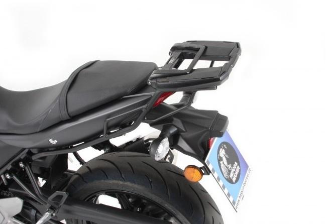 スーパーセール バイク用品 ケース(バッグ)&キャリア キャリア&ケースホルダーヘプコアンドベッカー トップケースキャリア EASYラック ブラック SV650 X ABS 16-19HEPCO&BECKER 6613532 01 01 取寄品