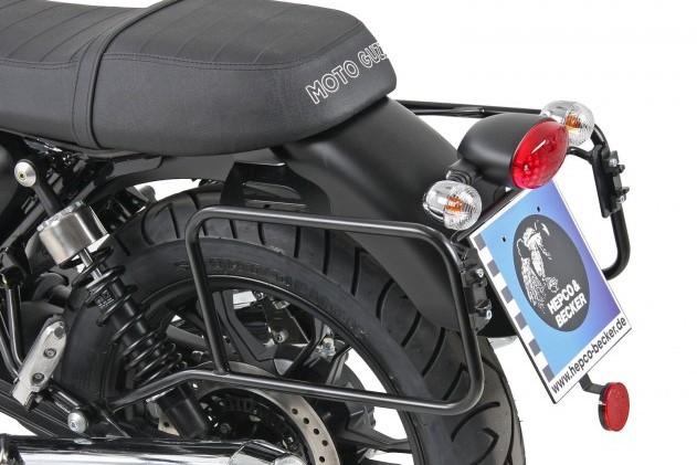 バイク用品 ケース(バッグ) キャリア キャリア&ケースホルダーヘプコアンドベッカー サイドキャリア ブラック V7 II Classic Stone Special 15-16HEPCO&BECKER 650545 00 01 取寄品 セール