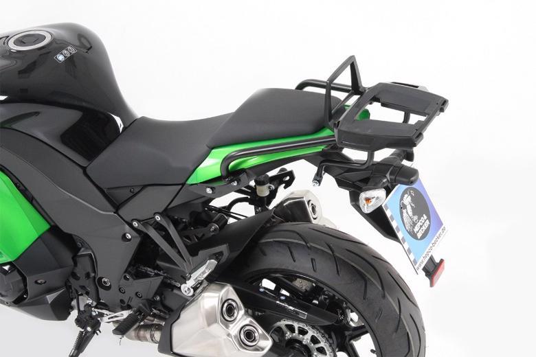 バイク用品 ケース(バッグ) キャリア キャリア&ケースホルダーヘプコアンドベッカー トップケースキャリア アルラック ブラック Ninja1000 14-16HEPCO&BECKER 6522525 01 01 取寄品