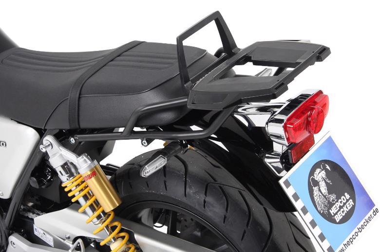 スーパーセール バイク用品 ケース(バッグ)&キャリア キャリア&ケースホルダーヘプコアンドベッカー トップケースキャリア アルラック ブラック CB1100EX RS 17-19HEPCO&BECKER 6529502 01 01 取寄品
