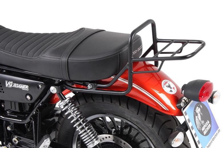 スーパーセール バイク用品 ケース(バッグ)&キャリア キャリア&ケースホルダーヘプコアンドベッカー トップケースキャリア リアラック ブラック V9 Roamer 17-19HEPCO&BECKER 654551 01 01 取寄品