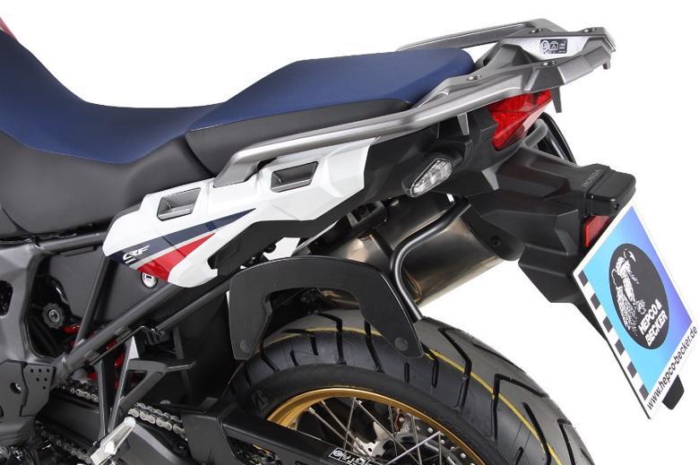 スーパーセール バイク用品 ケース(バッグ)&キャリア キャリア&ケースホルダーヘプコアンドベッカー C-Bow ブラック CRF1000L AfricaTwin 18-19HEPCO&BECKER 6309512 00 01 取寄品