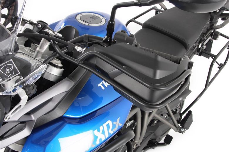 バイク用品 外装 ガード&スライダーヘプコアンドベッカー ハンドガード ブラック Tiger800XC XCX 15-19HEPCO&BECKER 4207535-01 取寄品