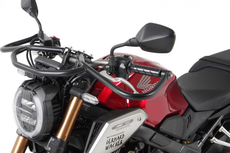バイク用品 外装 ガード&スライダーヘプコアンドベッカー フロントガード ブラック CB650R 19HEPCO&BECKER 5039518 00 01 取寄品