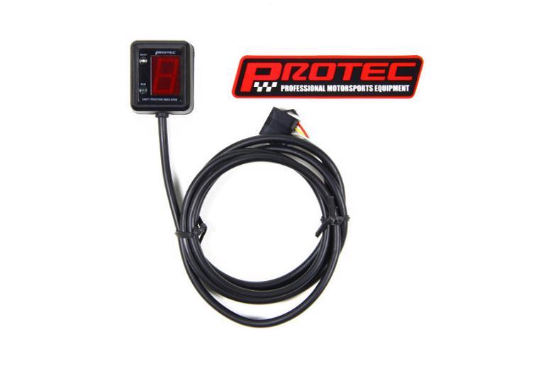バイク用品 電装系 シフトインジケーターProtec SPI-M04シフトポジションインジケーター スーパーカブ110 09-11プロテック 11044取寄品 スーパーセール