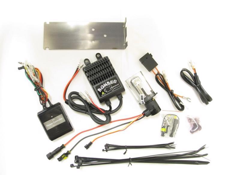 バイク用品 電装系 汎用バルブ&電飾品Protec BOMBER HID 6000K スポーツスター 04- (XL,XR)用プロテック 62835-02取寄品 セール