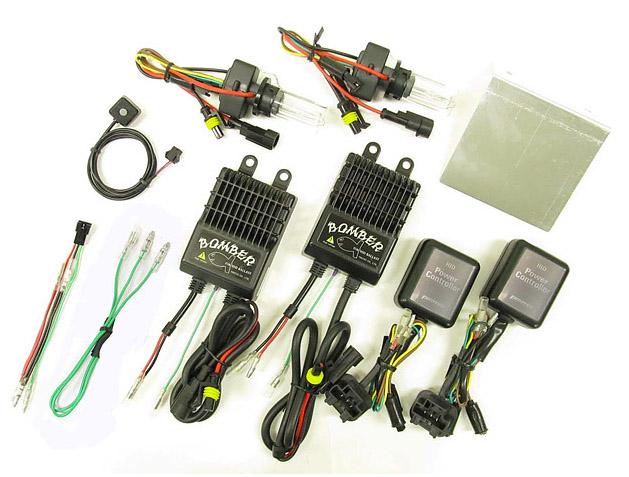 バイク用品 電装系 ヘッドライト&ヘッドライトバルブProtec BOMBER ツートーン HIDキット PCX125 150(タイ仕様)10-13 専用プロテック 63002取寄品 スーパーセール