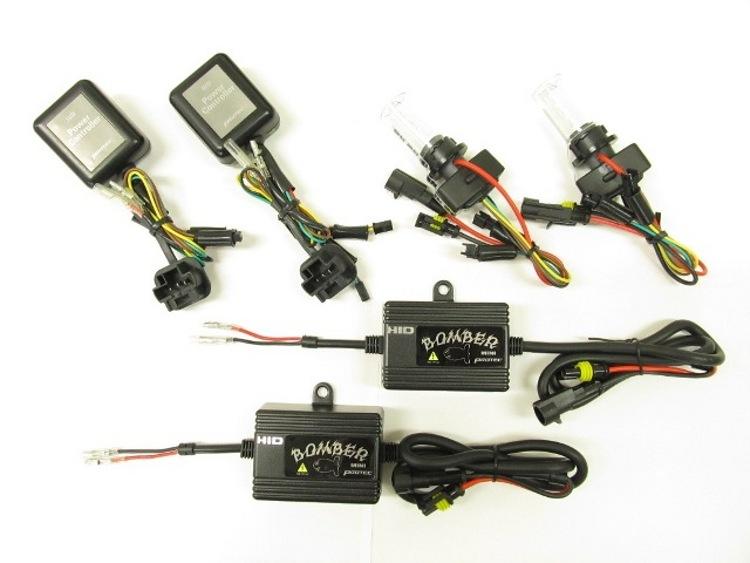 バイク用品 電装系 ヘッドライト&ヘッドライトバルブProtec BOMBER Mini HIDキット 6000K PCX125 150(国内)10-13 車種専用キットプロテック 64001取寄品