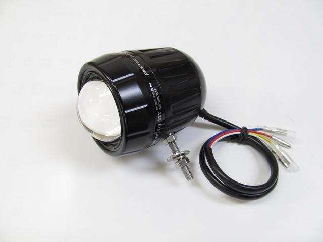バイク用品 電装系 補助ライトProtec FLT-322 LEDフォグライト (REVセンサー無)下ボルトプロテック 66322-D取寄品