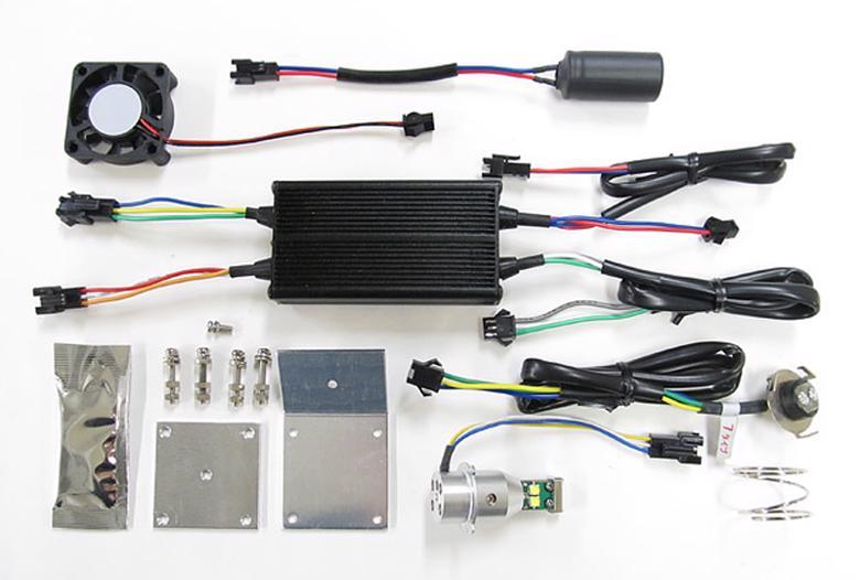 バイク用品 電装系 ヘッドライト&ヘッドライトバルブProtec LEDバルブ PH7タイプ Hi Lo 20 30w 6000k(PH7ソケットタイプ)プロテック 65012取寄品