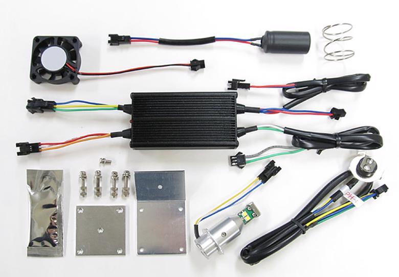 バイク用品 電装系 ヘッドライト&ヘッドライトバルブProtec LEDバルブ PH8タイプ Hi Lo 20 30w 6000kプロテック 65013取寄品