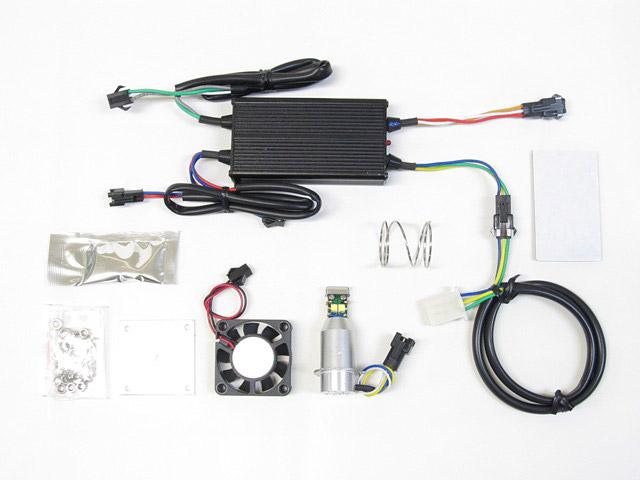 バイク用品 電装系 ヘッドライト&ヘッドライトバルブProtec LB8-DRZ LEDヘッドライトバルブ DR-Z400SM 04-09(SK44A) DR-Z400S 00-08(SK43A)プロテック 65019取寄品