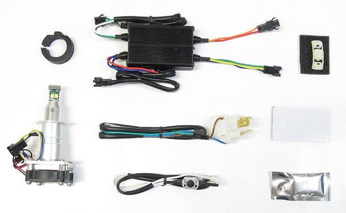 バイク用品 電装系 ヘッドライト&ヘッドライトバルブProtec LB7W-L LEDヘッドライトバルブ H7汎用 Hi Lo切替式Loビーム側専用12v 20 20w 6000kプロテック 65031取寄品 セール