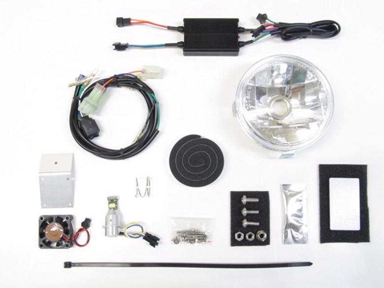 バイク用品 電装系 ヘッドライト&ヘッドライトバルブProtec LEDマルチリフレクターヘッドライト 6000k クロスカブ110 18-(JA45)プロテック 64006-60取寄品