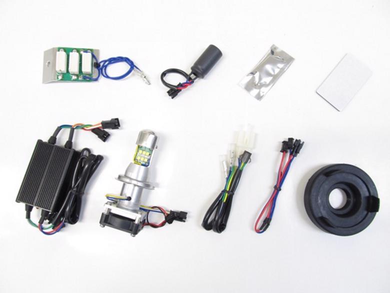 バイク用品 電装系 ヘッドライト&ヘッドライトバルブProtec LB4-KSR LEDヘッドライトバルブ KSR110PRO 14-(KL110E)プロテック 65054取寄品 スーパーセール