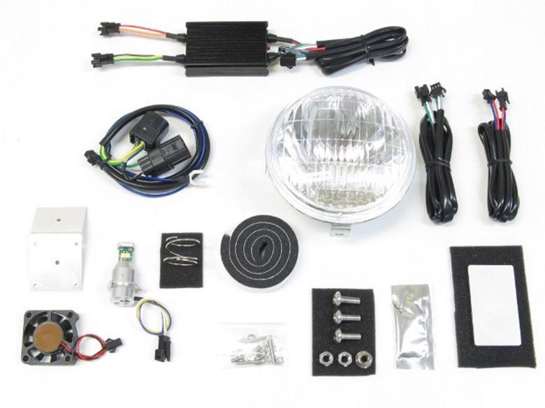 バイク用品 電装系 ヘッドライト&ヘッドライトバルブProtec LBH-H12 LEDクラシカルヘッドライト 3000k スーパーカブ110プロ 18- JA42プロテック 63008-30取寄品