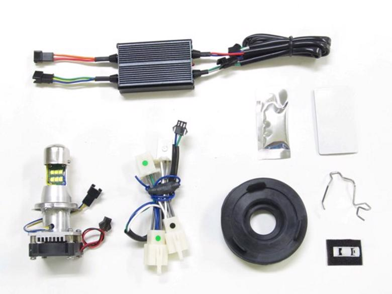 バイク用品 電装系 ヘッドライト&ヘッドライトバルブProtec LHL-H19 LEDバルブ 6000k CB1100EX 17-19プロテック 64010-01取寄品 セール