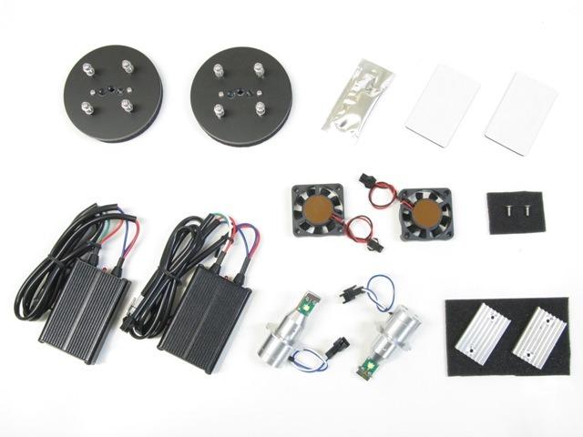 バイク用品 電装系 ヘッドライト&ヘッドライトバルブProtec LB7-MJ LEDヘッドライトバルブ MAJESTY250 12-17(4D9) 2灯キットプロテック 65062取寄品