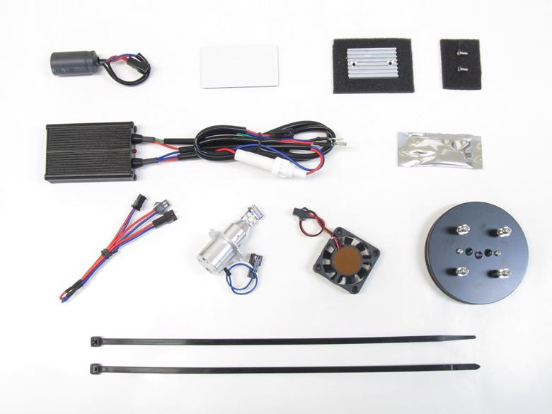 バイク用品 電装系 ヘッドライト&ヘッドライトバルブProtec LB7-BGS LEDヘッドライトバルブ BMW R1200GS 04-12 R1200GSA 05-13 Lo側プロテック 65064取寄品 スーパーセール