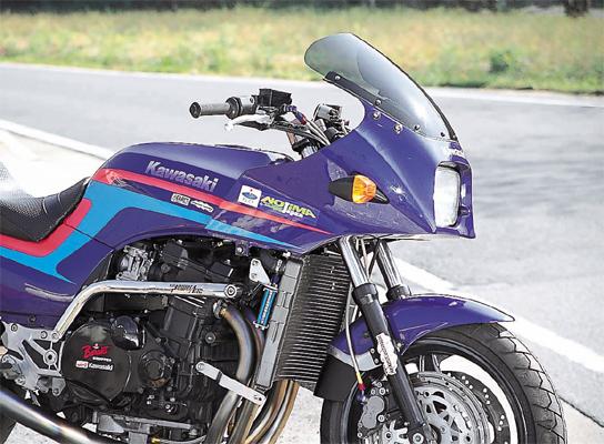 PLOT Rオイルクーラーキットレーシング7ROW BK GPZ750/900R 《PLOT ROC602RB》