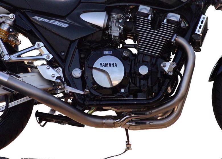 NOJIMA サイレンサーレスキット PRO Rチタン XJR1300/1200 -06 《ノジマ NMTPX215SLK》