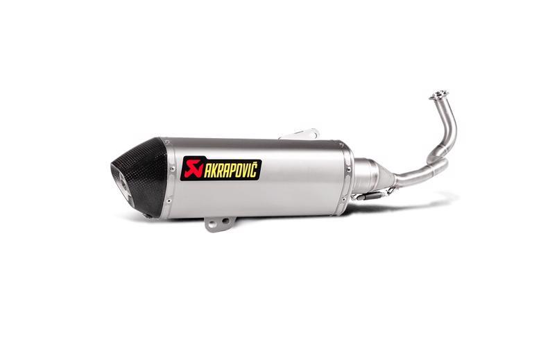 AKRAPOVIC レーシングライン ヘキサゴナルステン PCX125/150 14-16 《アクラポヴィッチ S-H125R4-HRSS》
