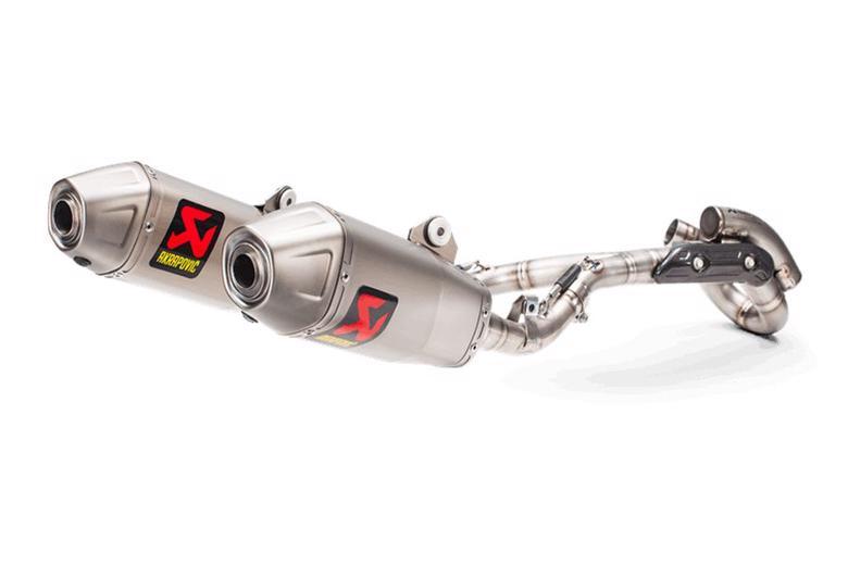 AKRAPOVIC レーシングライン チタン CRF450R 17 《アクラポヴィッチ S-H4MR16-CIQTA》 スーパーセール