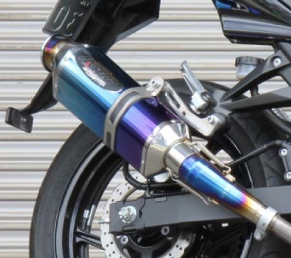 BEET NASSERT Evolution S/O Ninja250R 08-12 ブルーTI 《ビート 0278-K95-BL》