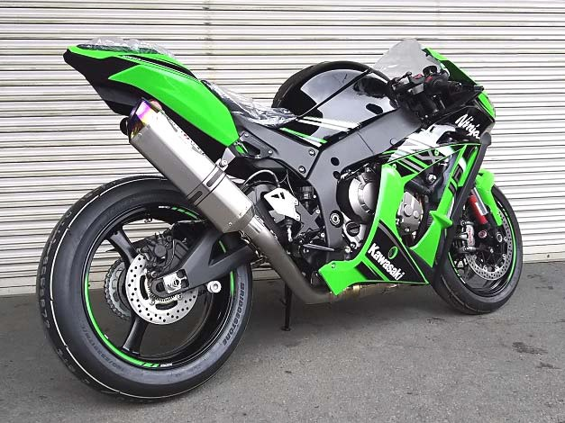 BEET S/OナサートR EvoTYPE-2 クリアTI ZX-10R 16- 《ビート 0235-KD4-50》