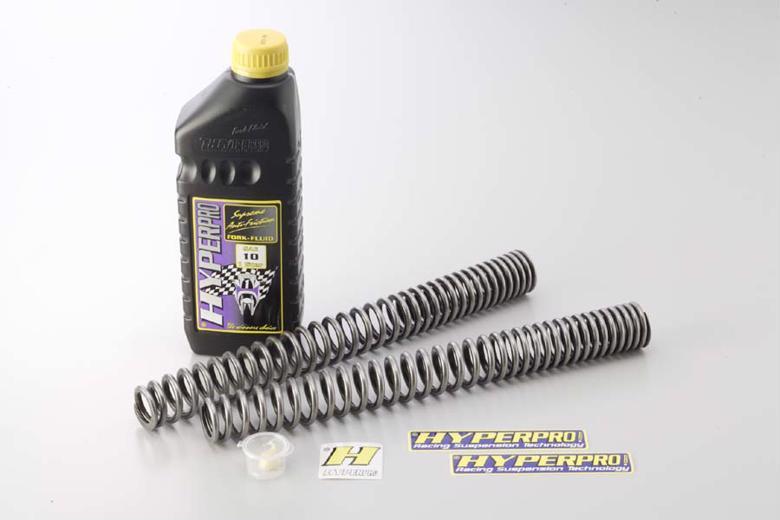 ハイパープロ ローダウンスプリング -25mm フロント 1400GTR/CONCOUR> 《ハイパープロ 22071480》