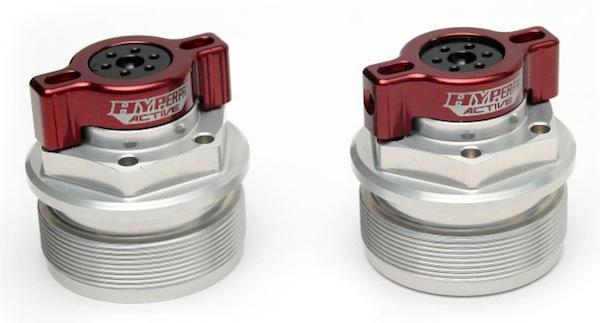 ハイパープロ プリロードアジャスター RED GPZ900R A7-A16(バーハント> 《ハイパープロ 22671202》
