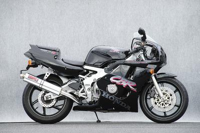 ヤマモト.R ステン4-1/アルミサイレンサー CBR400RR 90- 《ヤマモトレーシング 10403-11SAB》